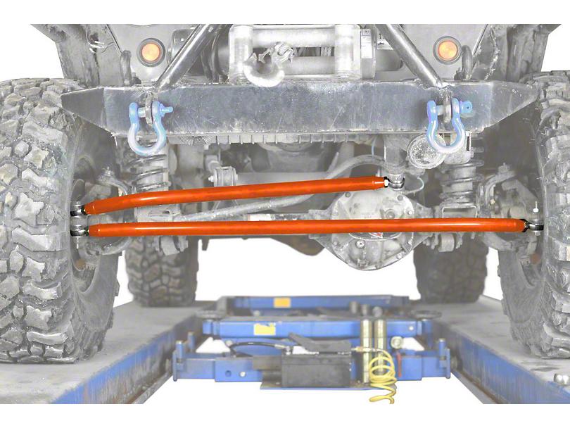 Steinjager Crossover Steering Kit for 0-4 in. Lift - Fluorescent Orange (97-06 Jeep Wrangler TJ)