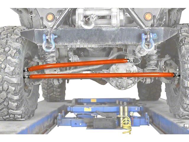 Steinjager Crossover Steering Kit for 0 to 4-Inch Lift; Fluorescent Orange (97-06 Jeep Wrangler TJ)