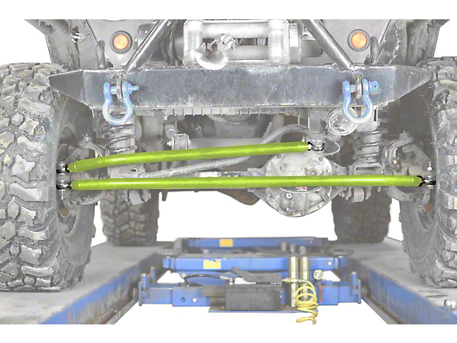 Steinjager Crossover Steering Kit for 0 to 4-Inch Lift; Gecko Green (97-06 Jeep Wrangler TJ)