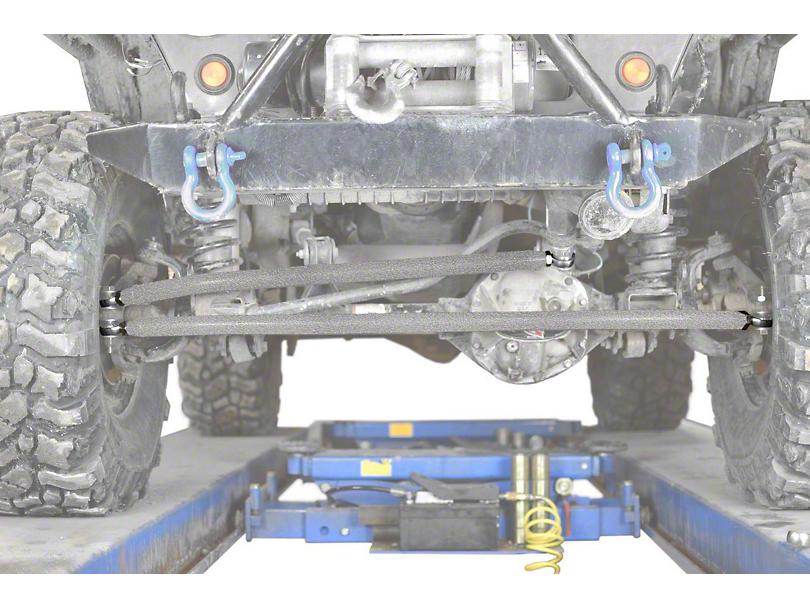 Steinjager Crossover Steering Kit for 0-4 in. Lift - Gray Hammertone (97-06 Jeep Wrangler TJ)