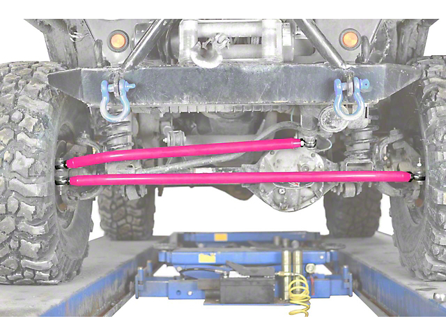 Steinjager Crossover Steering Kit for 0-4 in. Lift - Hot Pink (97-06 Jeep Wrangler TJ)