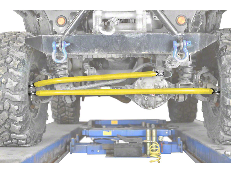 Steinjager Crossover Steering Kit for 0-4 in. Lift - Lemon Peel (97-06 Jeep Wrangler TJ)