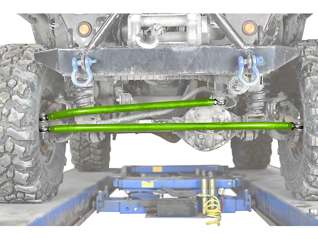 Steinjager Crossover Steering Kit for 0-4 in. Lift - Neon Green (97-06 Jeep Wrangler TJ)