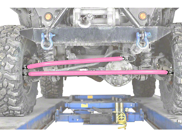 Steinjager Crossover Steering Kit for 0-4 in. Lift - Pinky (97-06 Jeep Wrangler TJ)
