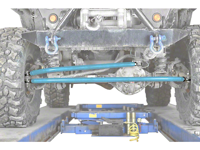 Steinjager Crossover Steering Kit for 0 to 4-Inch Lift; Playboy Blue (97-06 Jeep Wrangler TJ)