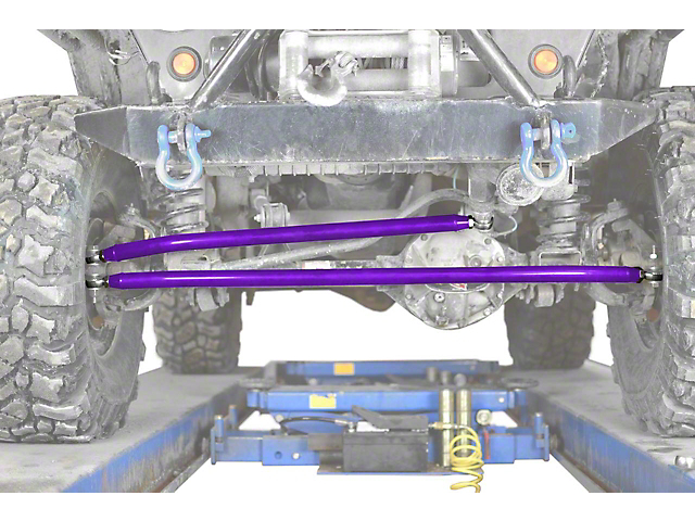 Steinjager Crossover Steering Kit for 0 to 4-Inch Lift; Sinbad Purple (97-06 Jeep Wrangler TJ)