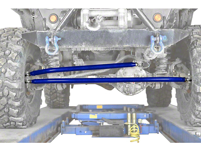 Steinjager Crossover Steering Kit for 0 to 4-Inch Lift; Southwest Blue (97-06 Jeep Wrangler TJ)
