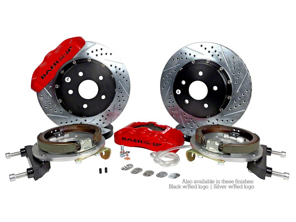 Baer Pro Plus Rear Big Brake Kit - Red Calipers (18-20 Jeep Wrangler JL)