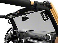 Smittybilt Aluminum Front Grab Handles (07-18 Jeep Wrangler JK)