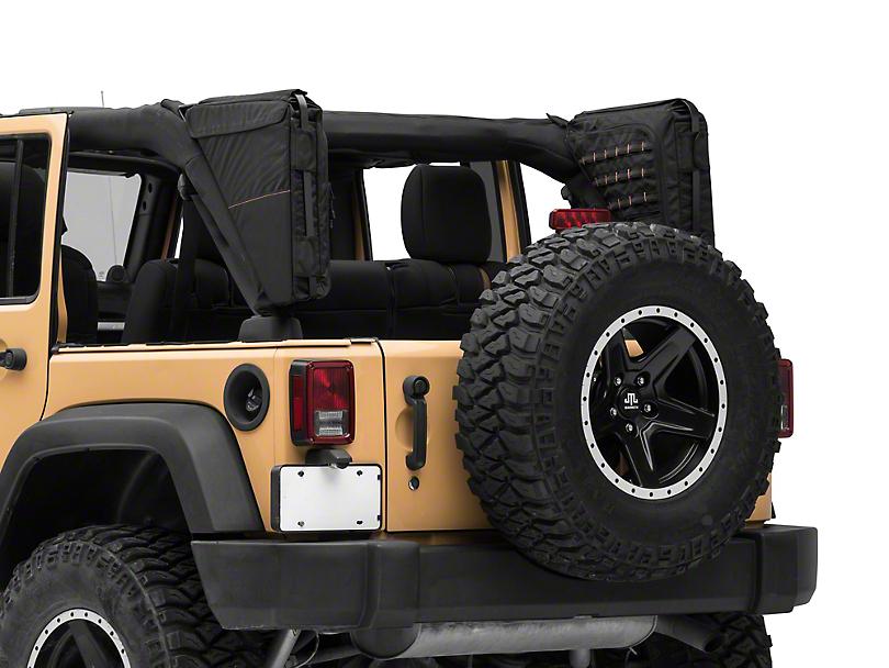 XG Cargo Gama Mounted Sportsbar Side Storage Bags (07-18 Jeep Wrangler JK 4 Door)