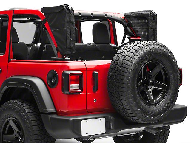 XG Cargo Gama Mounted Sportsbar Side Storage Bags (18-19 Jeep Wrangler JL 4 Door)