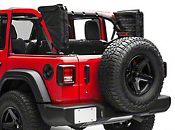 XG Cargo Gama Mounted Sportsbar Side Storage Bags (18-20 Jeep Wrangler JL 4 Door)