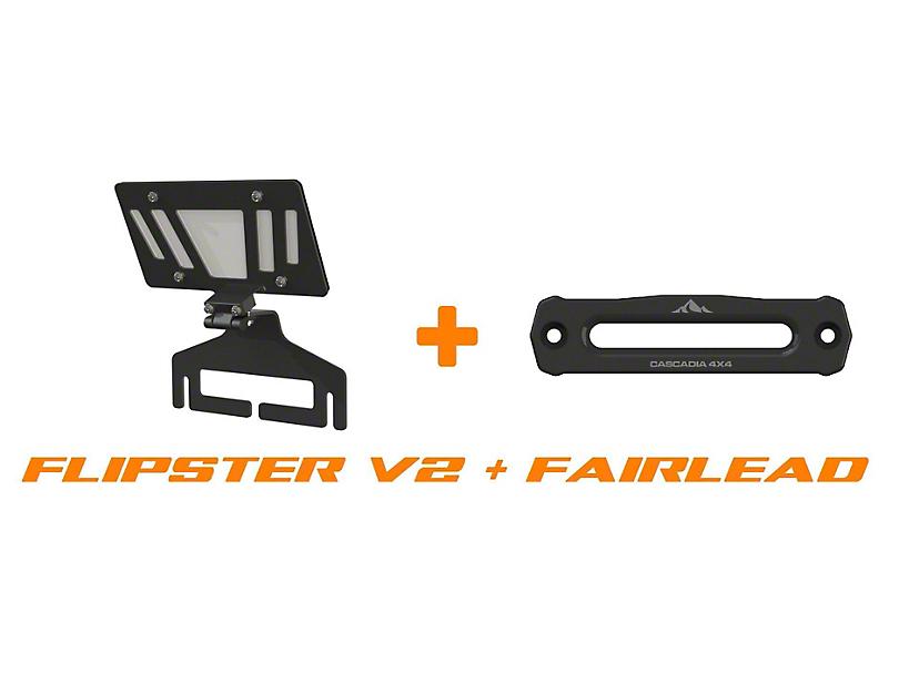 Cascadia 4x4 Flipster V2 and Hawse Fairlead Combo