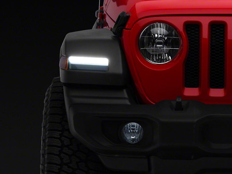 Morimoto XB LED Turn Signals - Smoked (18-19 Jeep Wrangler JL, Excluding Sport)