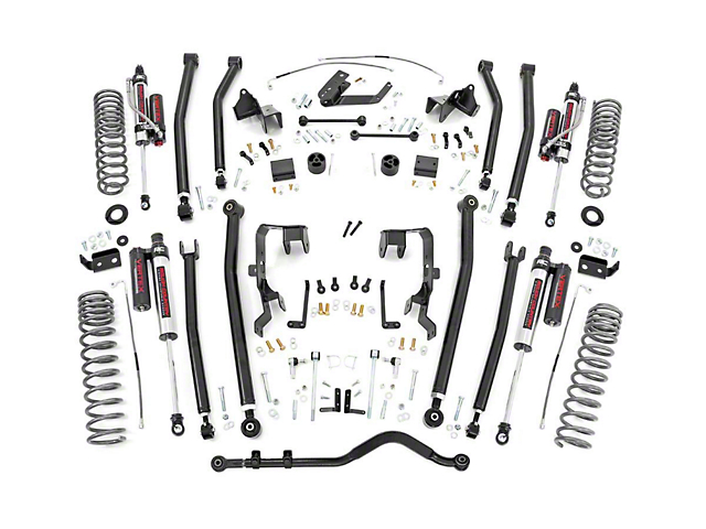 Rough Country Jeep Wrangler 4 in. Long Arm Suspension Lift