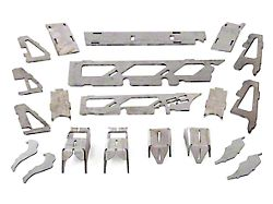 Rough Country Dana 30 Front Axle Truss & Gusset Kit (07-18 Jeep Wrangler JK, Excluding Rubicon)