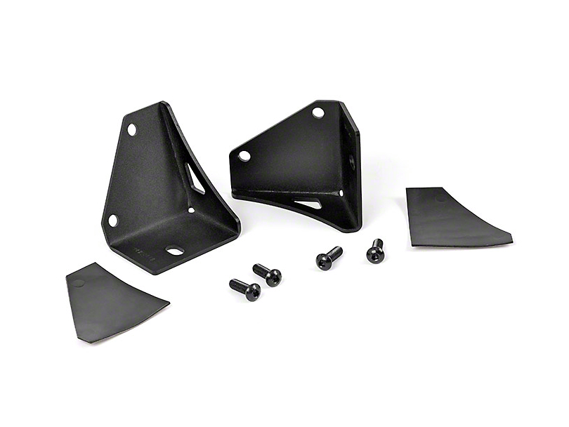 Rough Country Lower Windshield Light Mounting Brackets (87-95 Jeep Wrangler YJ)