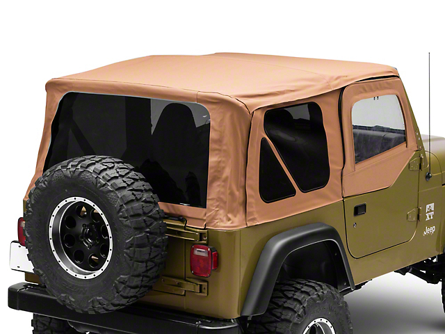 Rough Country Replacement Soft Top; Spice (97-06 Jeep Wrangler TJ w/ Half Doors, Excluding Unlimited)