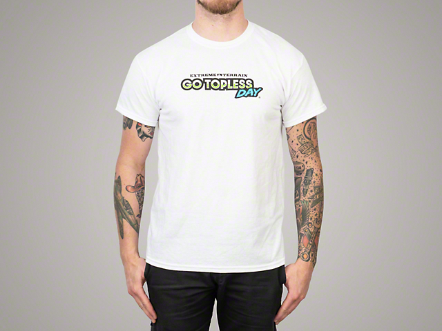 Men's/Unisex Go Topless Day Event T-Shirt