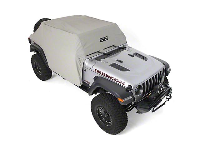 Smittybilt Cab Cover - Gray (18-20 Jeep Wrangler JL 4 Door)