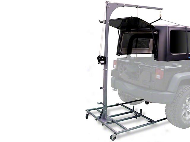 Lange Hoist-A-Cart (07-18 Jeep Wrangler JK)