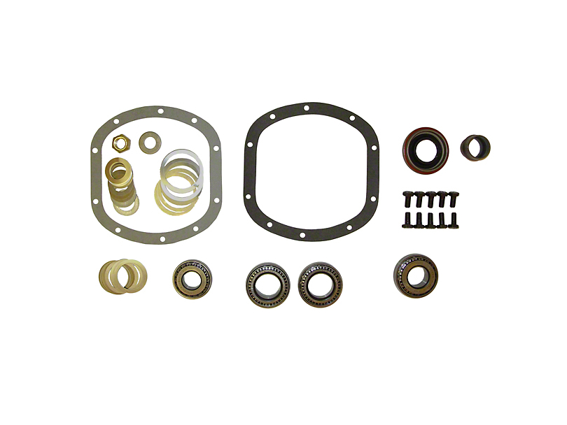 Dana 30 Front Axle Differential Rebuild Kit (97-12 Jeep Wrangler TJ & JK)