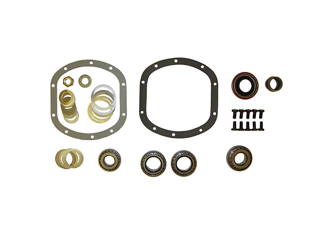 Master Rebuild Kit for Dana 30 w/o Vacuum Disconnect (97-12 Jeep Wrangler TJ & JK)
