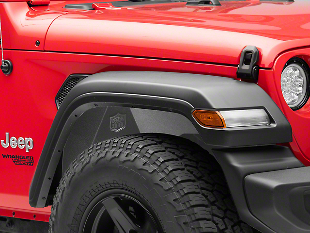Deegan 38 Aluminum Inner Fender Liners (18-20 Jeep Wrangler JL)