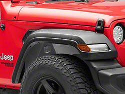 Deegan 38 Aluminum Inner Fender Liners; Front and Rear (18-20 Jeep Wrangler JL)