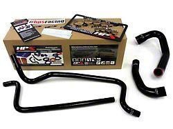HPS Silicone Radiator Coolant and Heater Hose; Black (02-06 4.0L Jeep Wrangler TJ)