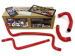 HPS Silicone Radiator Coolant and Heater Hose; Red (02-06 4.0L Jeep Wrangler TJ)