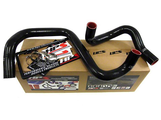 HPS Silicone Radiator Coolant Hose - Black (12-18 3.6L Jeep Wrangler JK)