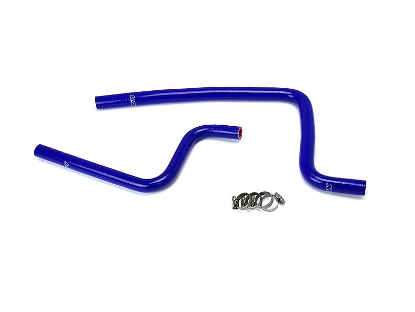 HPS Silicone Heater Hose; Blue (97-02 2.5L Jeep Wrangler TJ)