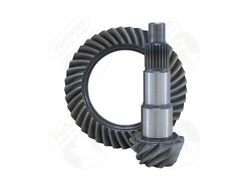Yukon Gear Dana 30 Front Axle Ring and Pinion Gear Kit; 4.11 Gear Ratio (18-20 Jeep Wrangler JL, Excluding Rubicon)