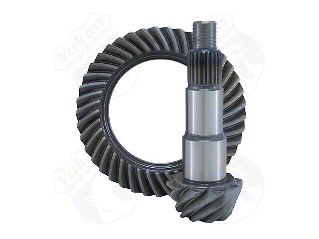 Yukon Gear Dana 30 Front Axle Ring and Pinion Gear Kit; 5.13 Gear Ratio (18-20 Jeep Wrangler JL, Excluding Rubicon)