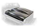 DV8 Offroad Heat Dispersion Vented Hood; Unpainted (18-21 Jeep Wrangler JL)