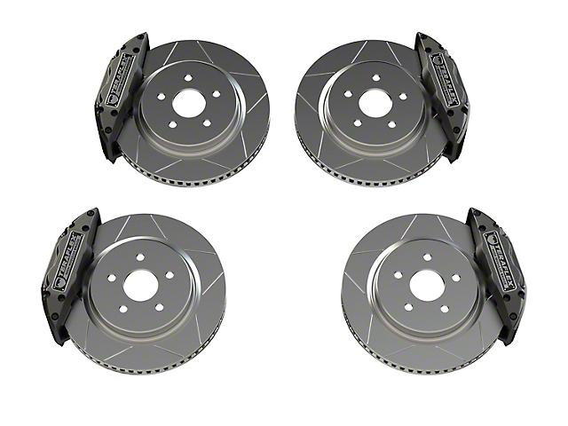 Teraflex Delta Big Brake Kit; 5x5 Bolt Pattern (07-20 Jeep Wrangler JK & JL)