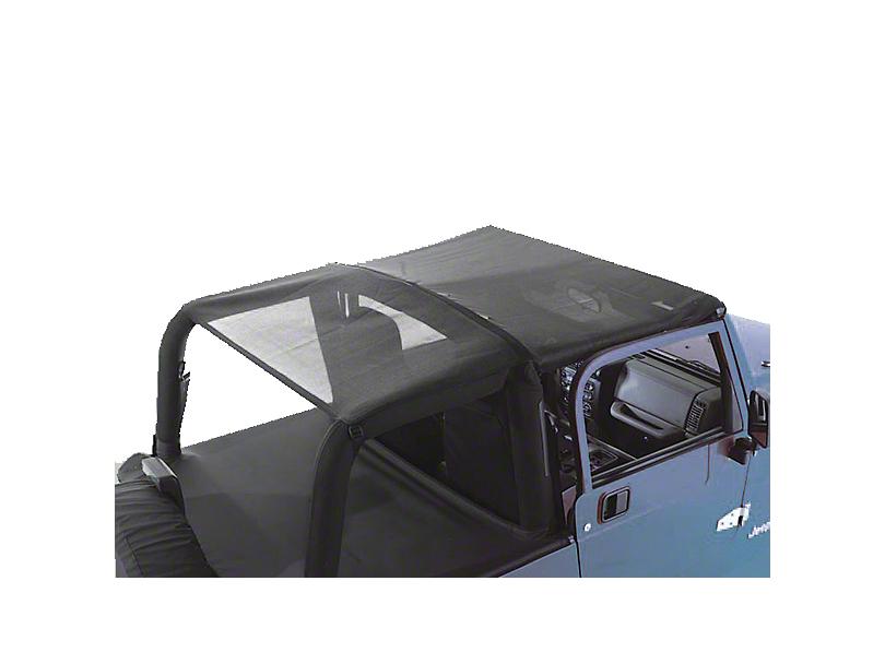 Rugged Ridge Mesh Roll Bar Top (97-06 Jeep Wrangler TJ)