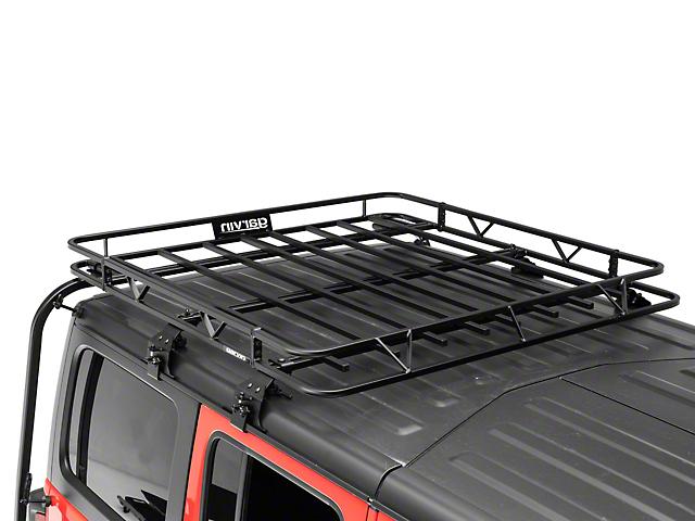 Garvin Expedition Half Rack (18-21 Jeep Wrangler JL 4 Door w/ Hard Tops)