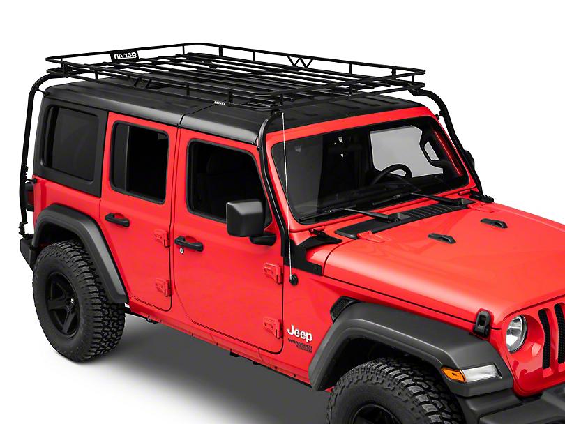 Garvin Expedition Rack (18-20 Jeep Wrangler JL 4 Door w/ Hard Tops)