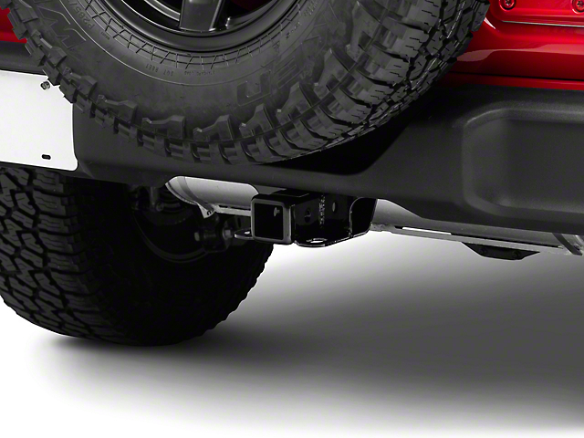 Smittybilt Factory Style 2-Inch Receiver Hitch (18-21 Jeep Wrangler JL)