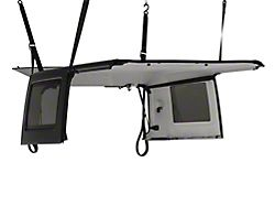 RedRock 4x4 Manual Hard Top Hoist (07-18 Jeep Wrangler JK 4-Door)