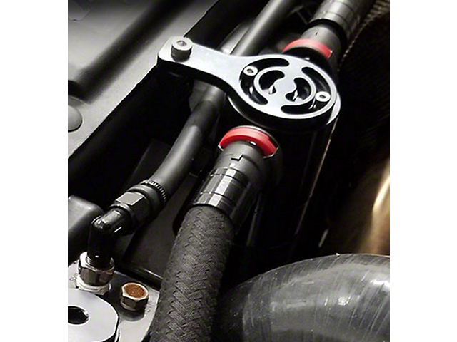 Prodigy Performance Oil Catch Can; Black (12-18 3.6L Jeep Wrangler JK)