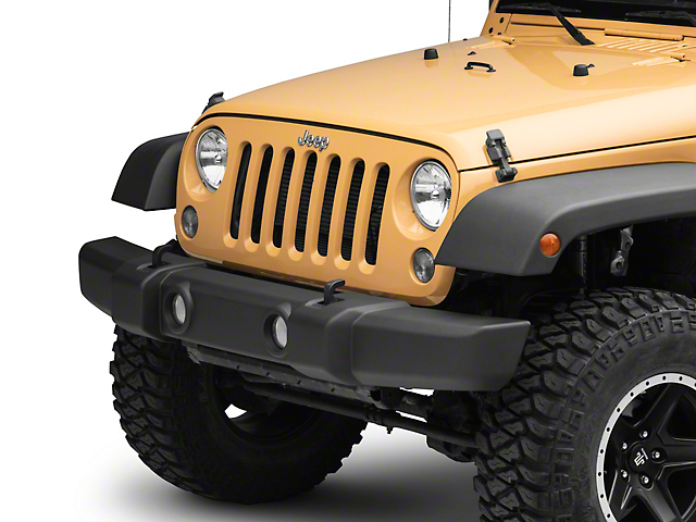 OPR Front Bumper Cover with Fog Light Openings (07-18 Jeep Wrangler JK)