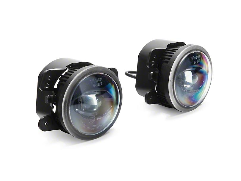 Morimoto XB Projector LED Fog Lights (07-18 Jeep Wrangler JK)