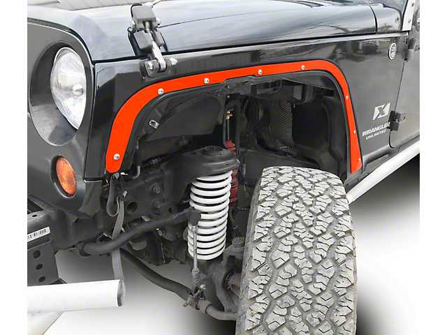 Steinjager Front Fender Deletes - Fluorescent Orange (07-18 Jeep Wrangler JK)