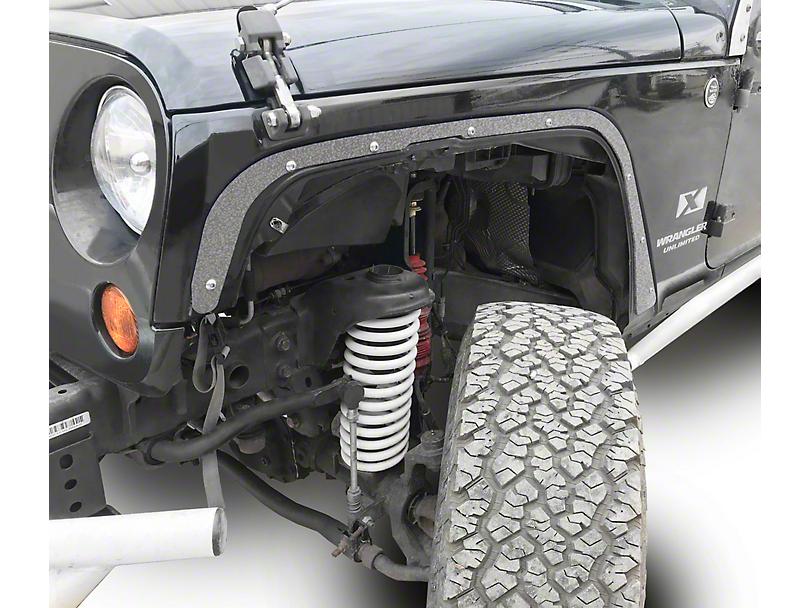 Steinjager Front Fender Deletes - Gray Hammertone (07-18 Jeep Wrangler JK)
