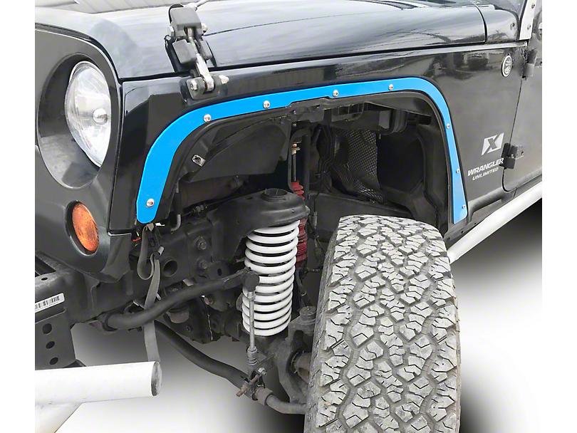 Steinjager Front Fender Deletes - Playboy Blue (07-18 Jeep Wrangler JK)