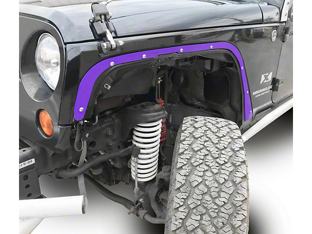 Steinjager Front Fender Deletes - Sinbad Purple (07-18 Jeep Wrangler JK)