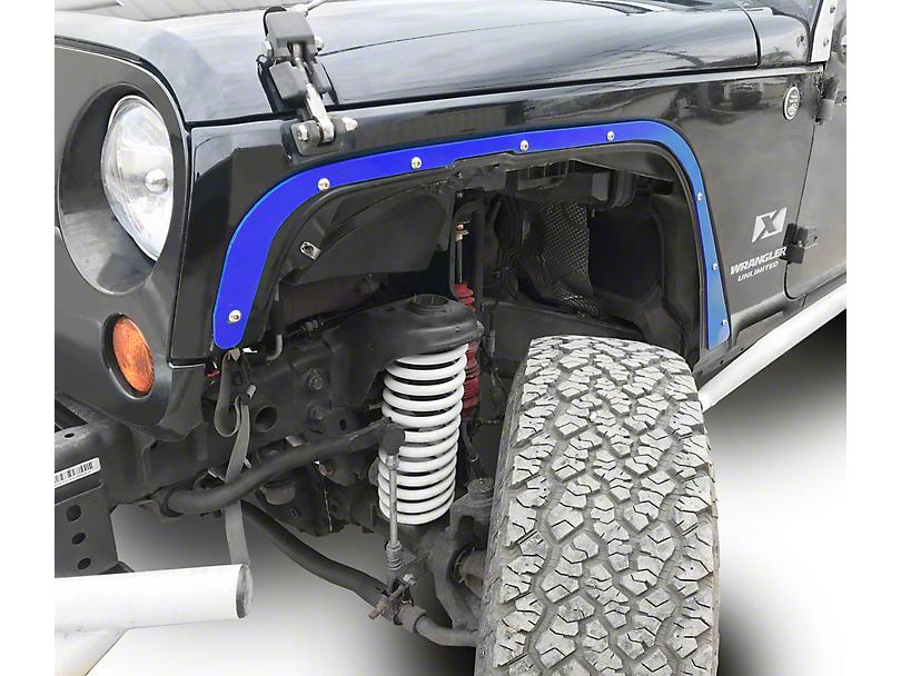 Steinjager Front Fender Deletes - Southwest Blue (07-18 Jeep Wrangler JK)